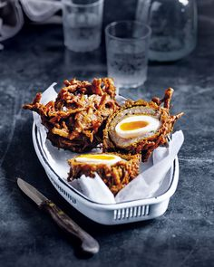That's right, we said it, the scotch bhaji. Dan Doherty's combination of two favourite fried foods is the ultimate hangover cure hybrid.