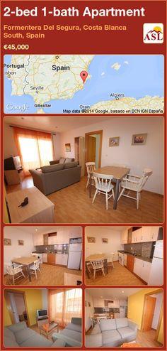 2-bed 1-bath Apartment in Formentera Del Segura, Costa Blanca South, Spain ►€45,000 #PropertyForSaleInSpain
