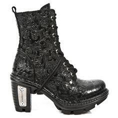 New Rock Boots Stiefel gothic schwarz Vintage M.NEOTR006-S4