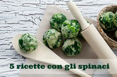 5 ricette con gli spinaci per bambini