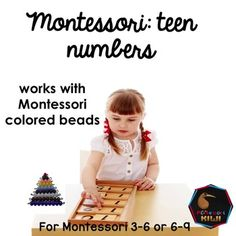 This teen numbers bundle is ideal for children to learn their teen numbers using Montessori math colored beads.  Suitable for Mainstream  math and Montessori Elementary classrooms.Designed by a Montessori Teacher for a public school Montessori class! CONTENTS/ HOW TO USE MATCH UP ACTIVITIES 1)Colored set of beads  for student to match with numeral  numbers 10-202)Colored set of beads with student to match the word  with numbers 10-203) Colored set of beads with student to match  tally marks…