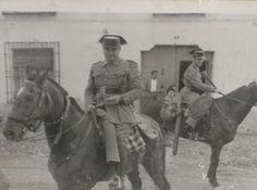 GC a caballo. Meco (Madrid), 1960.