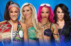 Raw Women's Champion Bayley defends her title at WrestleMania 33 against Charlotte Flair, Sasha Banks and Nia Jax in a Fatal Elimination Match, streaming live Sunday, April on the award-winning WWE Network. Wrestlemania 33, Wwe Sasha Banks, Paige Wwe, Ready To Rumble, Nia Jax, Four Tops, Raw Women's Champion, Charlotte Flair, Wwe News