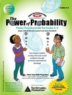 In this unit for grades 6-8, students learn and reinforce skills for strategies to identify favorable and total outcomes; calculating simple and compound probability; sampling and proportions and using probability concepts to solve real-world problems.