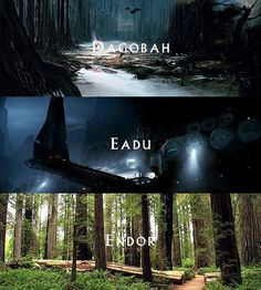 """the-savior-and-the-pirate: """"SW Movies + Locations """" Star Wars Film, Star Wars Rpg, Star Wars Love, Star Wars Fan Art, Star Wars Pictures, Star Wars Images, Star Wars Species, Star Wars Planets, Star Wars Personajes"""