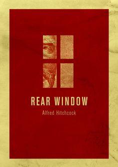 Hitchcock posters por Enzo Lo Re | Designlov