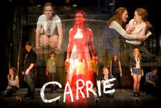 """""""A Night We'll Never Forget"""" – Carrie Music: Michael Gore Lyrics: Dean Pitchford Make tonight a night you'll never forget with this stimulating tune from a notorious flop that is now a cult favor… Theatre Nerds, Musical Theatre, Theater, Scary Movies, Horror Movies, Carrie Stephen King, Carrie The Musical, Modern Feminism, Carrie White"""