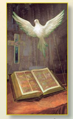 Holy Spirit(confimation) Card by Hirten Religious Images, Religious Art, Jesus Walk On Water, La Sainte Bible, Christian Pictures, Art Thou, Holy Ghost, Holy Spirit, Spirituality
