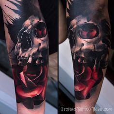 color skull tattoos - Buscar con Google
