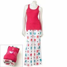 SO Plush Pajama Gift Set - Juniors