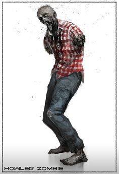 HOWLER ZOMBIE State of Decay Concept Art