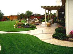 Fabulous Simple Backyard Landscape Cheap Landscaping Ideas Pictures Part Idea Nice Look 1