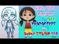 1. How to Create Characters in Anime Studio Pro 9 (Basic Constuction)