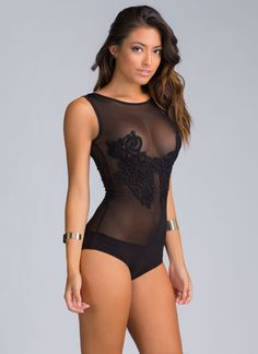 Girl, you are more than qualified for a hot bodysuit like this one.