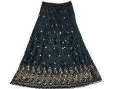 "Womens Bohemian Skirt Black Blue Sequin Beaded Gold Embroidered Bellydance Skirts 36"" Mogul Interior, http://www.amazon.com/dp/B009SIGTZK/ref=cm_sw_r_pi_dp_b5gGqb0PJ79BM"
