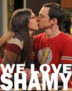 I didn't think Sheldon could be any funnier, until they added Amy in the mix! The Big Bang Theory, Hurry up Fall! Best Tv Couples, Best Couple, Big Bang Theory, Tbbt, Nerd Love, My Love, Sheldon Amy, Mayim Bialik, Comedy Show