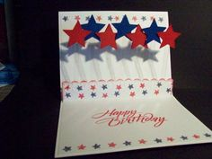 Independance Day (Fourth of July) Popup Card