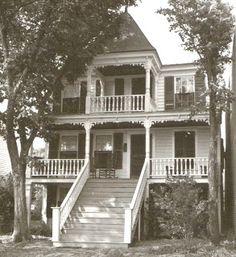 Beaufort, North Carolina History: Beaufort Female Academy circa 1854