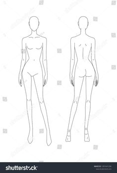 ✔ Fashion Model Template Front And BackYou can find Fashion figures and more on our website.✔ Fashion Model Template Front And Back Fashion Illustration Poses, Fashion Illustration Template, Fashion Sketch Template, Fashion Figure Templates, Fashion Design Template, Illustration Mode, Fashion Figure Drawing, Fashion Model Drawing, Fashion Drawing Dresses