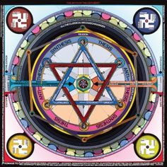Paul Laffoley, The Myth of the Zeitgest, 2013.