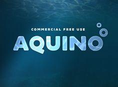 Aquino free font