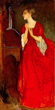 """the lady anne"" by edwin austin abbey c.1852"