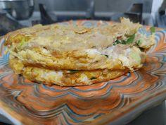 燕麥蛋餅(無麵粉料理) 輕鬆做早餐 by Mei - 愛料理