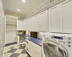 Laundry Room with dog washing station Henlopen Acres III by Echelon Custom Homes Dog Room Design, Laundry Room Design, House Design, Bath Design, Loft Design, Kitchen Design, Custom Home Builders, Custom Homes, Os Pets