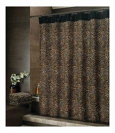 Leopard Shower Curtain At Dillards 40$$