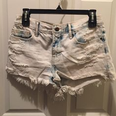 Abercrombie Shorts In good condition Abercrombie & Fitch Shorts Jean Shorts