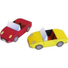 Convertible,Toys,Paper Craft,North America / South America,United States,vehicle,automobile,toy