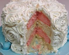 Rose Cake you can make with directions!