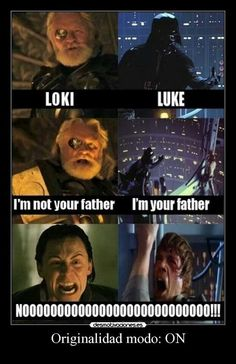 I'm your father, or not
