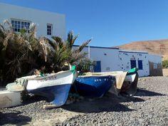 Barche di pescatori a Pozo Negro
