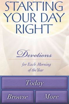*Starting Your Day Right....Devotions for Each Morning of the Year ~Joyce Meyer