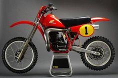 1981- Honda RC500 Works Bike