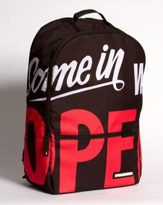 """Come in Were Open - Sprayground 