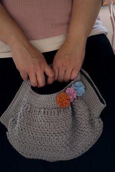 Japanese chrochet bag by rjrahardjo
