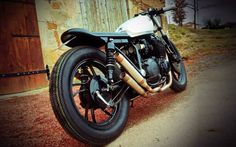 """Yamaha XJ 650 Cafe Racer """"70's ReLiC SpIrIt"""" by Ironbike Kustoms #motorcycles #caferacer #motos 