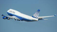 N105UA UNITED AIRLINES 747