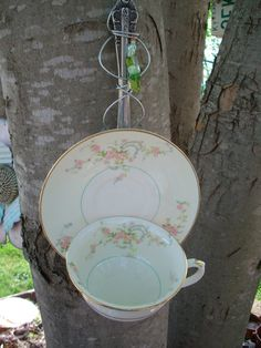Hey, I found this really awesome Etsy listing at https://www.etsy.com/listing/130594466/bird-feeder-garden-art-recycled-china