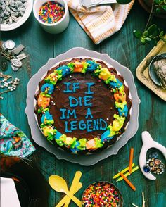 """Drake on a Cake"""" is the hilarious new series from Joy the Baker that just made baking ultra relevant for… basically everyone because who doesn't want a slice… Drake Cake, Cake Quotes, Joy The Baker, Cake Works, Funny Cake, Cake Toppings, Love Cake, What To Cook, Let Them Eat Cake"""