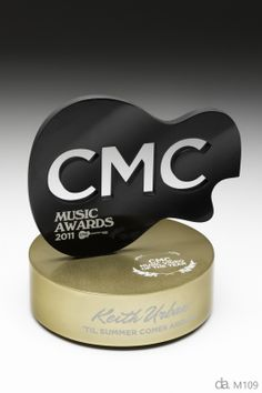 Country Music Channel Music Awards - Custom Trophies Australia