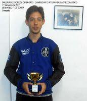 Galeria de Xadrez Borba Gato: Leonardo de Souza vence o Campeonato