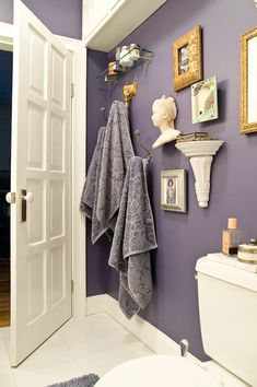 Benjamin Moore French Violet...obsessed with this paint color.