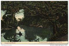Cartes Postales - brazil, MANAOS MARAVILHA, Amazonas Igarapé (1913) Stamp, Bazar Passe-Partout