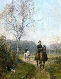 The Morning Ride, Lady Riding Sidesaddle