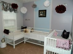Short on space triplet nursery!