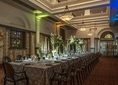 #TheReserve at Taj Cape Town is a beautifully restored Art Deco building where the splendour of a golden age plays host to a variety of events