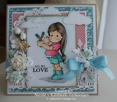 Nicole's stamp addiction: All my love... 4 you !